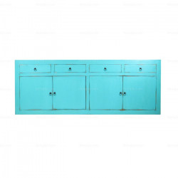 Light Blue Chinese Sideboard