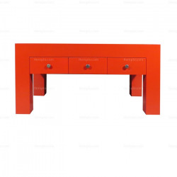 Red Japan Table